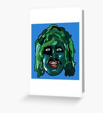 I'm Old Gregg - The Mighty Boosh Greeting Card
