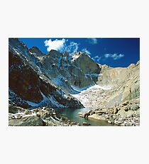 Chasm Lake Photographic Print