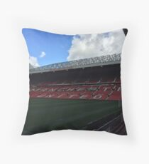 Manchester united - old trafford   Throw Pillow