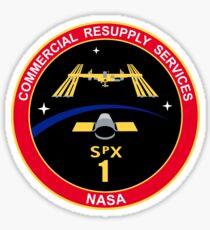 SpX-1 (CRS-1) Logo du programme Sticker