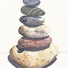 Beach Stones by Val Spayne