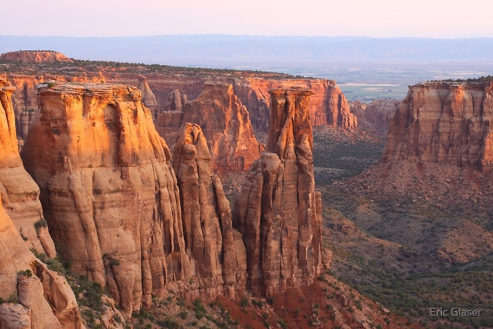 Canyons and Monoliths by Eric Glaser