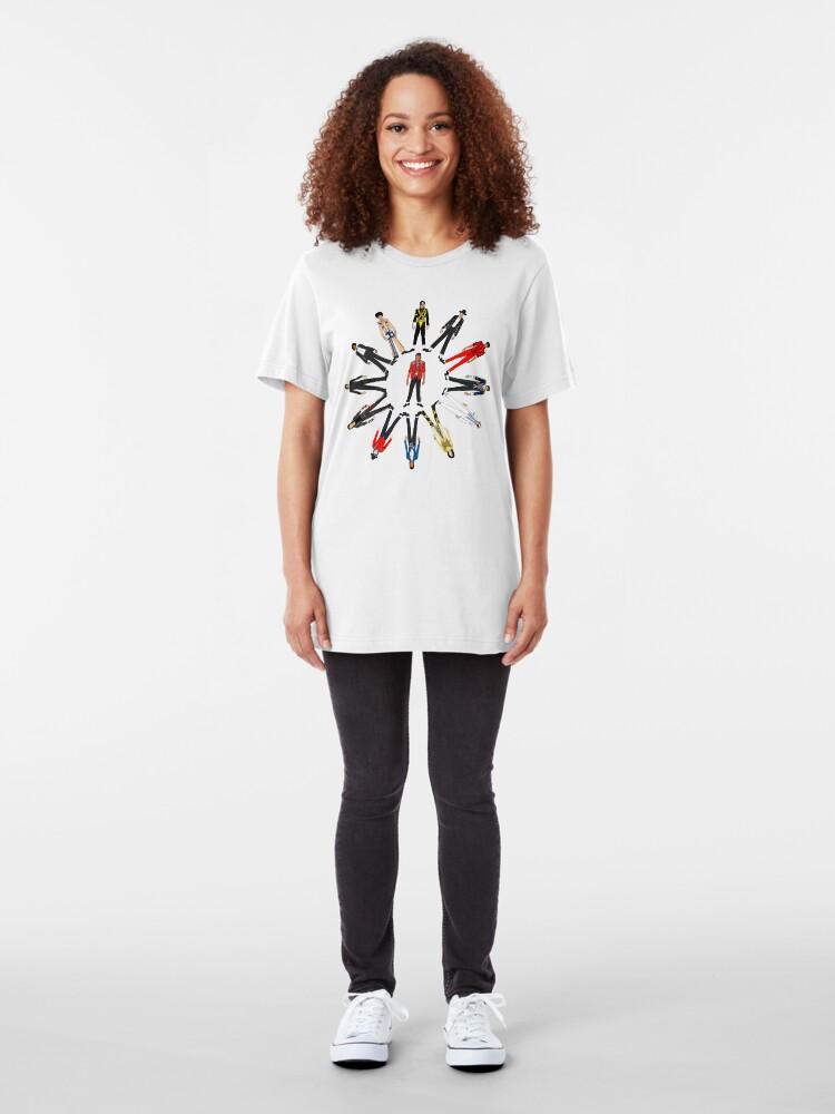 Alternate view of Moon Walk Slim Fit T-Shirt