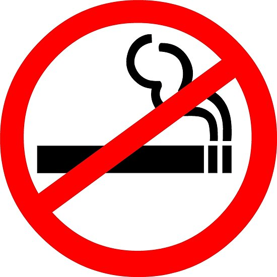 No Smoking Symbol Posters By Sweetsixty Redbubble