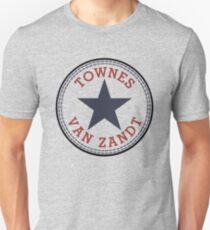 Townes Van Zandt Lone Star State Slim Fit T-Shirt