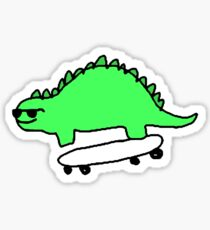 stego skater Sticker