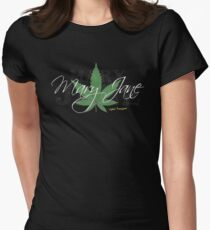Mary Jane Marijuana Leaf Stoners Shirts And Gifts T-Shirt