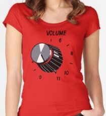 Goes Up To 11 Women's Fitted Scoop T-Shirt