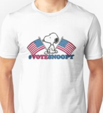 Vote Snoopy T-Shirt