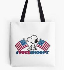 Vote Snoopy Tote Bag
