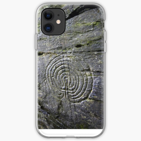 Cornwall : Rocky Valley Labyrinths iPhone Soft Case