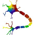 Rainbow Neuron by moietymouse