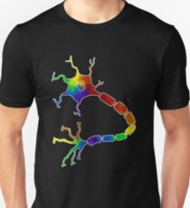 Rainbow Neuron Unisex T-Shirt