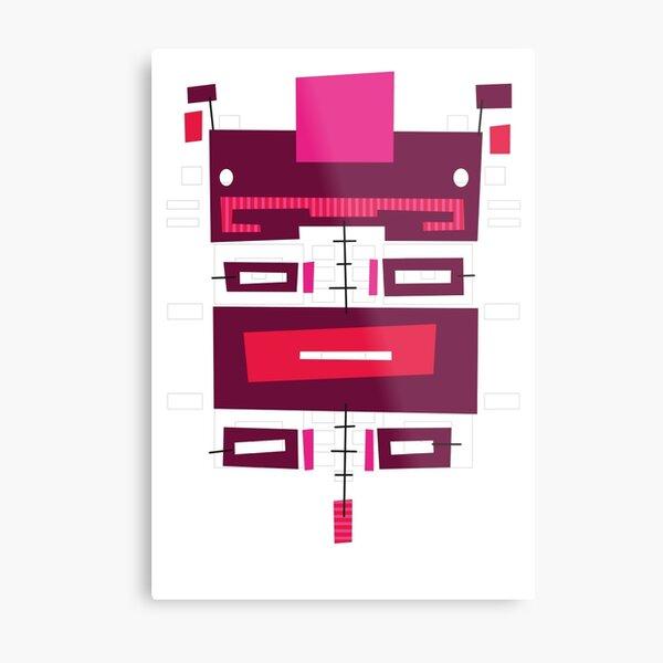 #01 - The Piggy Metal Print