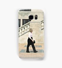 Walking, Château Laurier, Ottawa Samsung Galaxy Case/Skin