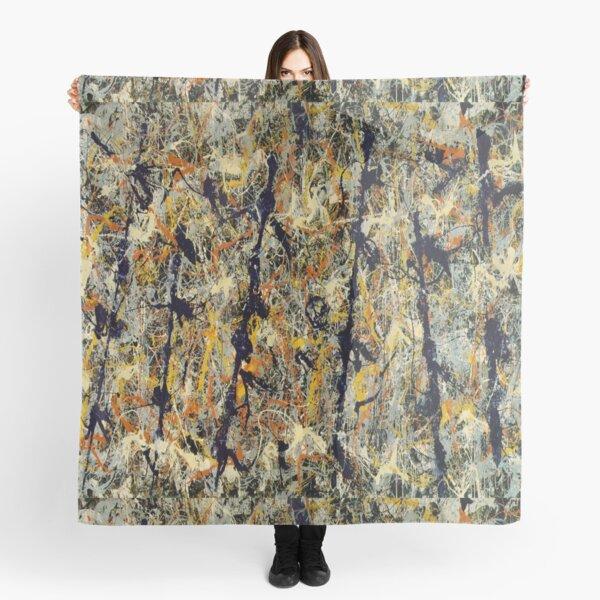 Number 11--- Jackson Pollock Scarf