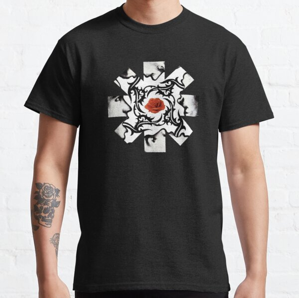 Red Hot Chilli Peppers Rose Classic T-Shirt