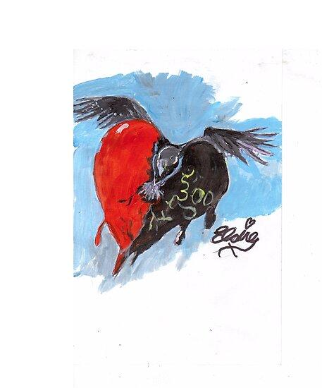 face the raven by vixenlondon2000