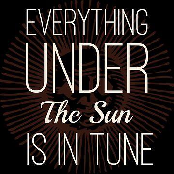 Everything under the Sun is In Tune Pink Floyd Lyrics by Sago-Design