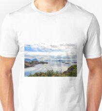 Lofoten coastline near Svolvaer, Norway T-Shirt