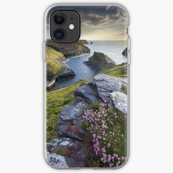 Cornwall : Boscastle Harbour iPhone Soft Case