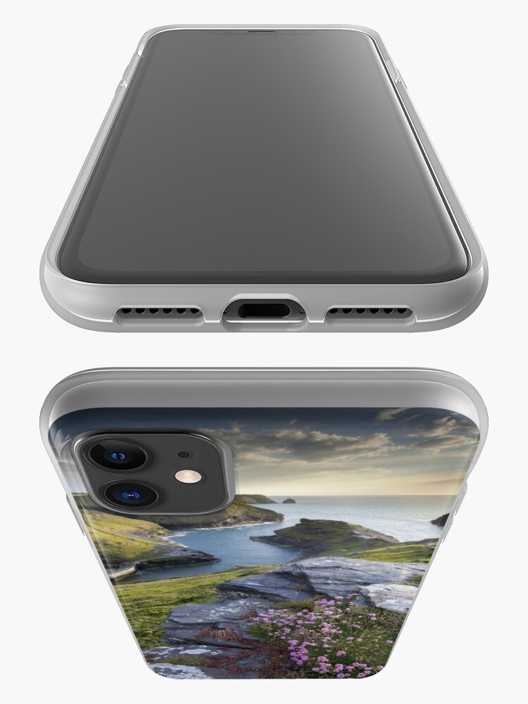 Alternate view of Cornwall : Boscastle Harbour iPhone Case & Cover