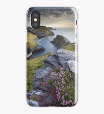 Cornwall : Boscastle Harbour iPhone Case/Skin