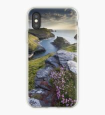 Cornwall : Boscastle Harbour iPhone Case
