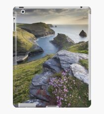 Cornwall : Boscastle Harbour iPad Case/Skin