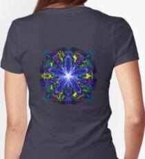 Energetic Geometry - moonlight flower bloom T-Shirt