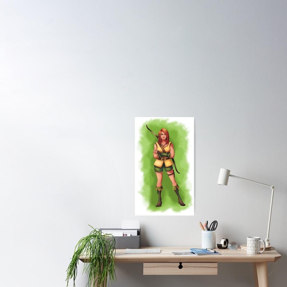 Huntress Hattie Poster
