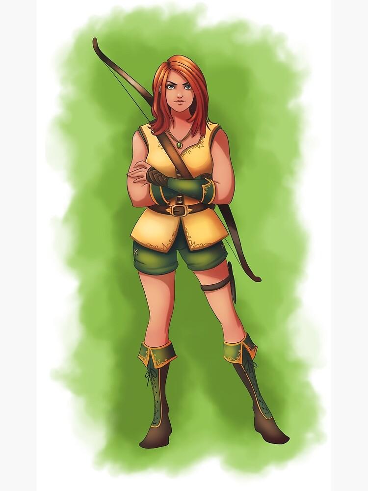 Huntress Hattie by BlizzardWatch