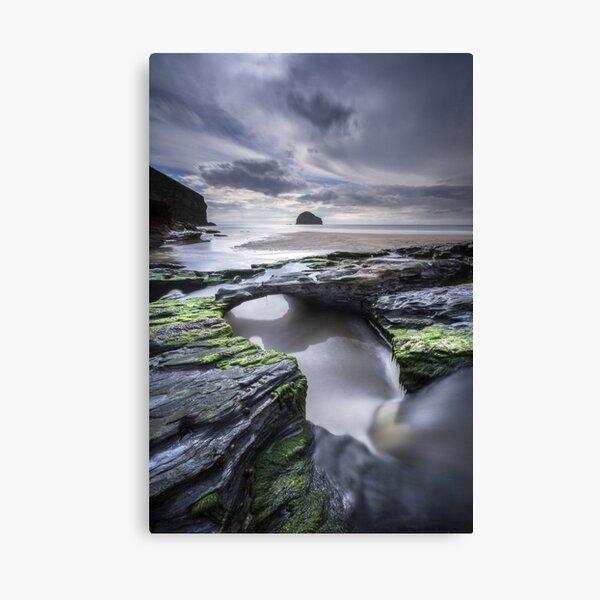 Cornwall- Trebarwith Strand Canvas Print