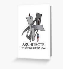 Architects Greeting Card