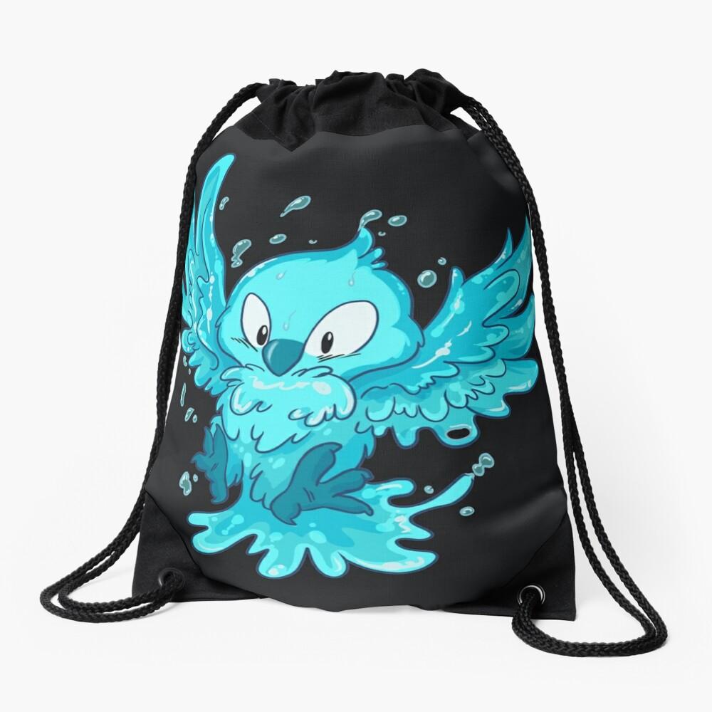 Moist Owlette Drawstring Bag