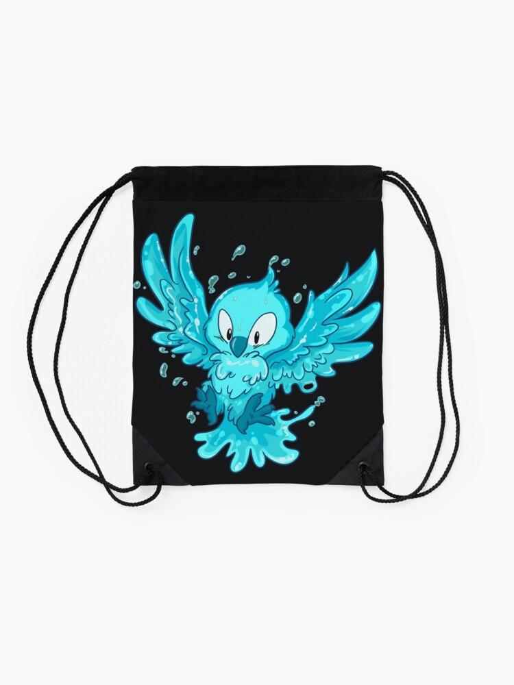 Alternate view of Moist Owlette Drawstring Bag