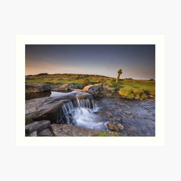 The Windy Post - Dartmoor Art Print