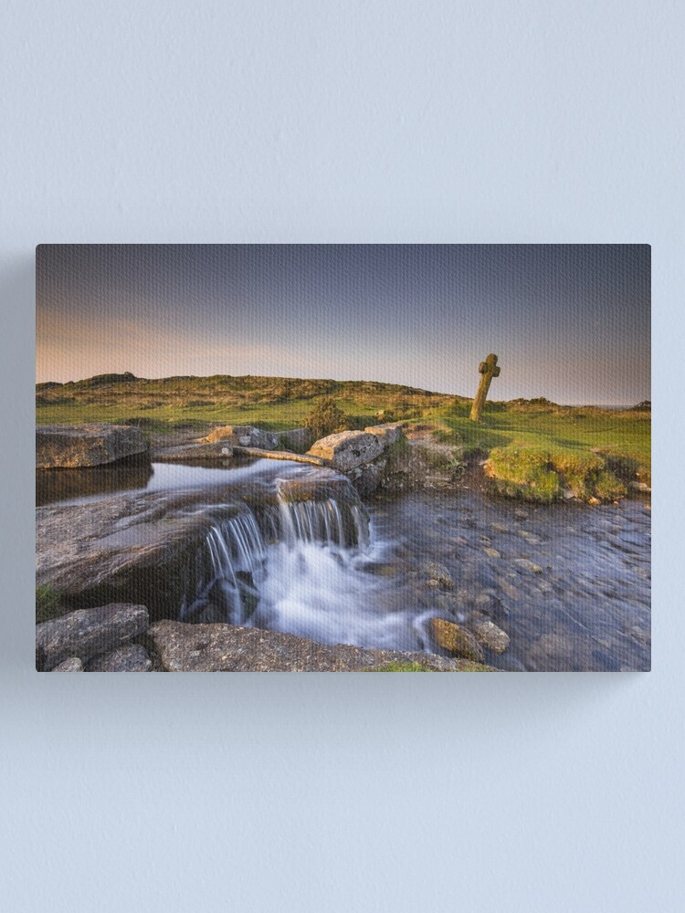 Alternate view of The Windy Post - Dartmoor Canvas Print