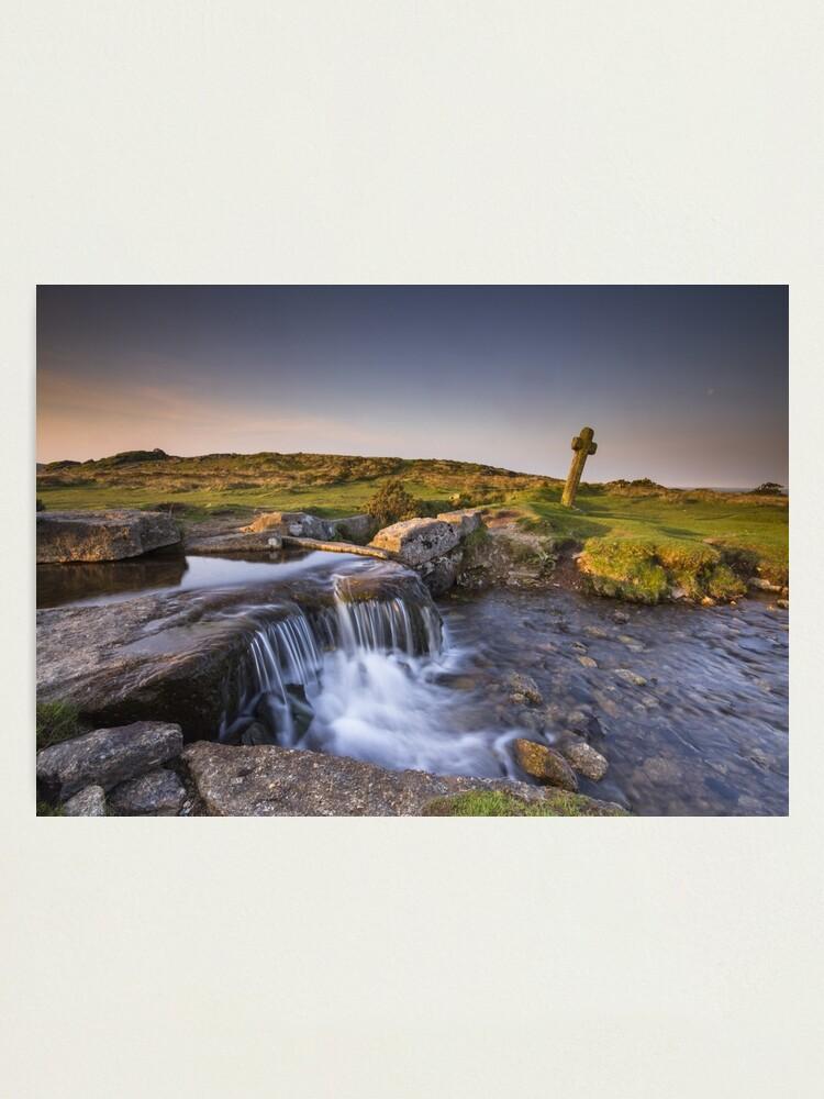 Alternate view of The Windy Post - Dartmoor Photographic Print
