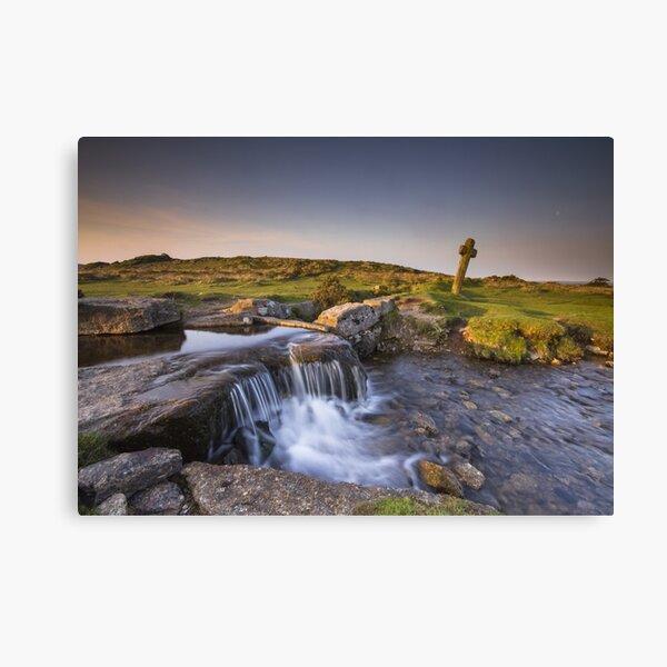 The Windy Post - Dartmoor Canvas Print