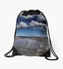 Bridlington Coastline Drawstring Bag