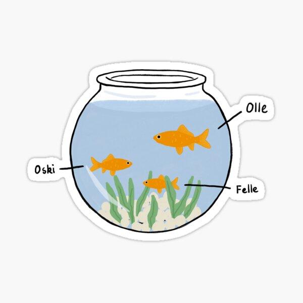 Simon's Fish  Sticker