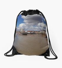 Bridlington Harbour Drawstring Bag