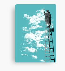 The Optimist Canvas Print