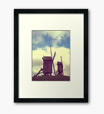 Wind mills of Villeneuve d'Ascq Framed Print