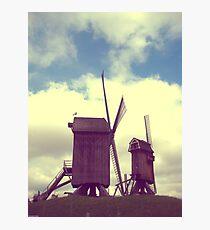 Wind mills of Villeneuve d'Ascq Photographic Print
