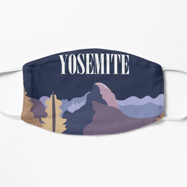 Half Dome, Yosemite, California, USA Flat Mask
