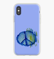 Abstract peace sign. iPhone Case