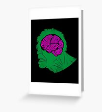 Brain Smash Greeting Card