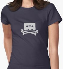 Home Taping Is Killing Music Logo Women's Fitted T-Shirt